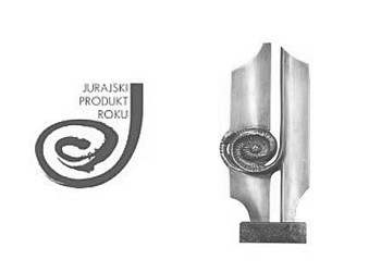 logo jurajski produkt roku