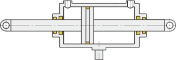 cylinder dwustronnego działania